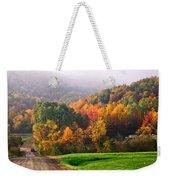 Autumn In New York Weekender Tote Bag