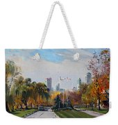 Autumn In Niagara Falls State Park Weekender Tote Bag