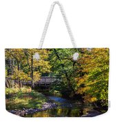 Autumn In Stillwater Weekender Tote Bag