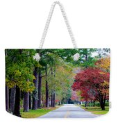 Autumn In The Air Weekender Tote Bag