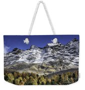 Autumn In The Alps 1 Weekender Tote Bag