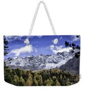 Autumn In The Alps Weekender Tote Bag