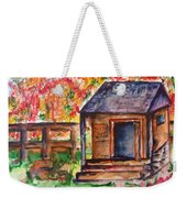 Autumn In The Backwoods Weekender Tote Bag