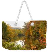 Autumn In The Butternut Valley-five Weekender Tote Bag