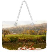 Autumn In The Butternut Valley-six Weekender Tote Bag