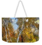 Autumn In The Marshes Weekender Tote Bag