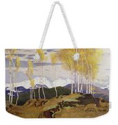 Autumn In The Mountains Weekender Tote Bag by Adrian Scott Stokes