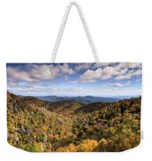 Autumn In The Blue Ridge Mountains Weekender Tote Bag