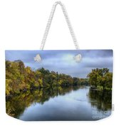 Autumn In The River Weekender Tote Bag