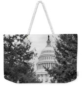 Autumn In The Us Capitol Bw Weekender Tote Bag