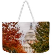 Autumn In The Us Capitol Weekender Tote Bag