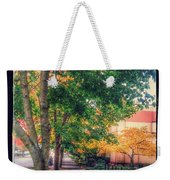 Autumn In Vancouver Washington Weekender Tote Bag