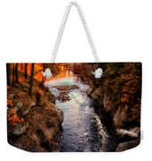 Autumn In West Paris Weekender Tote Bag by Bob Orsillo