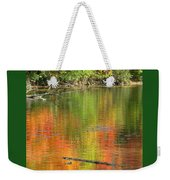 Autumn Jewel Weekender Tote Bag
