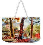 Autumn Jon Boats I Weekender Tote Bag