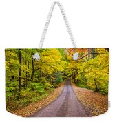Autumn Journey Weekender Tote Bag