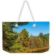 Autumn Lake 4 Weekender Tote Bag