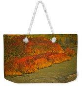 Autumn Lava Flow Weekender Tote Bag