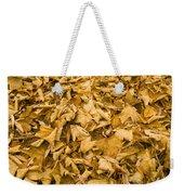 Autumn Leaf Background Weekender Tote Bag