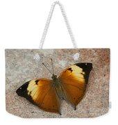 Autumn Leaf Butterfly Weekender Tote Bag