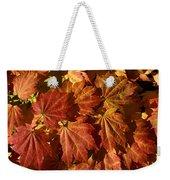 Autumn Leaves 00 Weekender Tote Bag