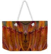 Autumn Leaves 03 Mirror Image Weekender Tote Bag