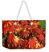Autumn Leaves 08 Weekender Tote Bag