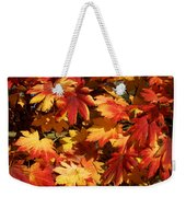 Autumn Leaves 09 Weekender Tote Bag