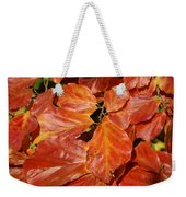 Autumn Leaves 80 Weekender Tote Bag