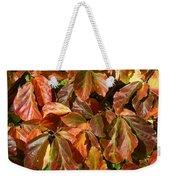 Autumn Leaves 81 Weekender Tote Bag