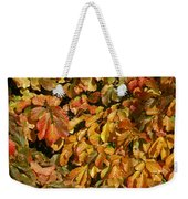 Autumn Leaves 83 Weekender Tote Bag