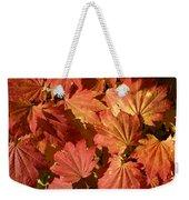 Autumn Leaves 98 Weekender Tote Bag