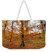 Autumn Leaves Common Wood  Weekender Tote Bag