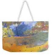 Autumn Leaves Panel1 Of 2 Panels Weekender Tote Bag
