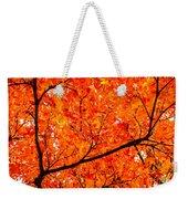 Glorious Autumn Leaves Weekender Tote Bag