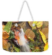 Autumn Leavings Weekender Tote Bag