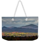 Painting With Autumn Light Weekender Tote Bag