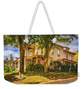 Autumn Mansion 4 - Paint Weekender Tote Bag