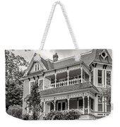 Autumn Mansion Bw Weekender Tote Bag