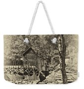 Autumn Mill 2 Antique Weekender Tote Bag