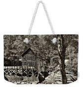 Autumn Mill 2 Sepia Weekender Tote Bag