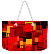 Autumn Modern Abstract Xv Weekender Tote Bag