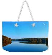 Autumn Moon At Argyle Lake Weekender Tote Bag