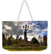 Autumn Morning At Symphony Circle V2 Weekender Tote Bag