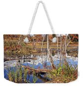 Autumn Morning At The Marsh Weekender Tote Bag