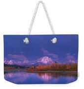 Autumn Morning Grand Tetons National Park Wyoming Weekender Tote Bag