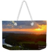 Autumn Morning Over Wailua Weekender Tote Bag