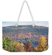 Autumn Mountain Weekender Tote Bag