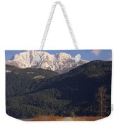 Autumn Snowcapped Mountain - Golden Ears - British Columbia Weekender Tote Bag