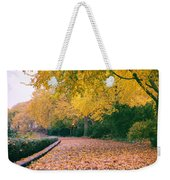 Autumn - New York City - Fort Tryon Park Weekender Tote Bag